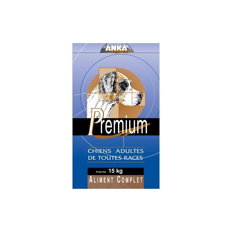 Croquettes Anka premium 15 kg pour chien