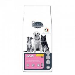 Croquettes Octave Prestige 12 kg pour chiens adultes de moyennes et grandes races