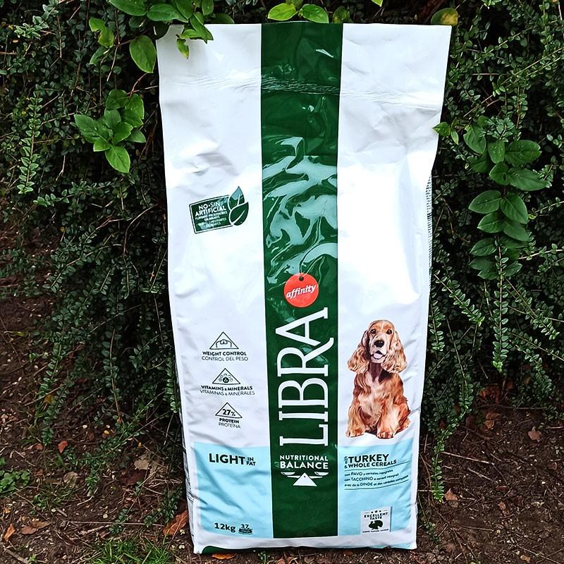 Libra Dog Nourriture Adult Light Dinde et Céréales Intégrales 12 kg